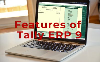 Latest Features of Tally ERP 9