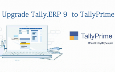 Upgrade Tally.ERP 9  to Tally Prime.
